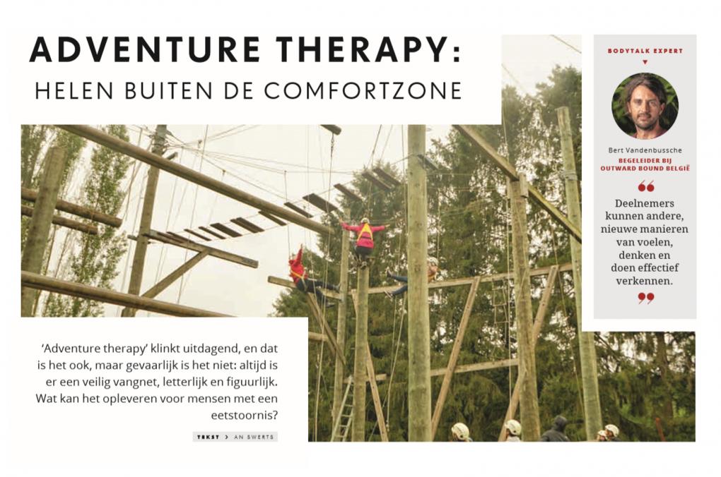 Artikel Knack Bodytalk eetstoornis adventure Therapy